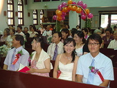 950624 Jerry&Jinna 結婚照片:好多人參加我們的婚禮~老媽、老爸、妹、乃興