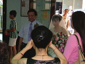 950624 Jerry&Jinna 結婚照片:父親牽著女兒的手
