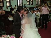 950624 Jerry&Jinna 結婚照片:新郎可以吻新娘了~輕輕的一個吻