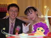 950624 Jerry&Jinna 結婚照片:休息室裡照像