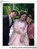 Jinna 家人結婚照片:淑貞訂婚