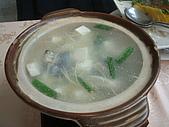 統一健康世界--五葉松養生餐:鱒魚玉筍鍋.JPG