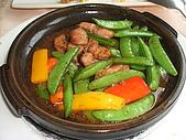 統一健康世界--五葉松養生餐:陶板嫩豬柳.JPG