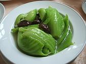 統一健康世界--五葉松養生餐:碧綠燜臻菇.JPG