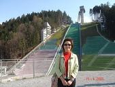 歐洲之列支登斯坦與奧地利:身後是滑雪坡道