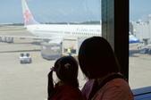 2011.10香港之旅:等一下要坐的飛機耶.JPG