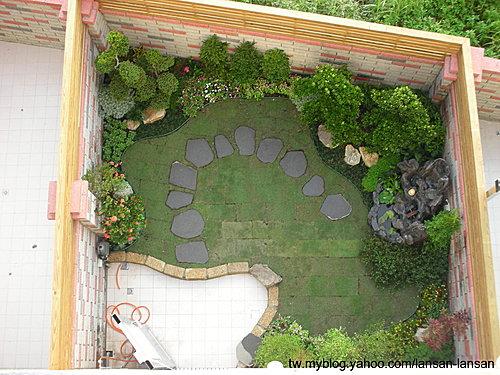8-1  庭園景觀工程 -- 下有細項分類:藍山園藝景觀工程  --  黃家庭園