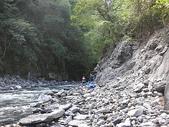 4-5  台灣櫻花鉤吻鮭  族群數量調查:DSCN9487  桃山西溪--颱風沖刷後的土石遺跡