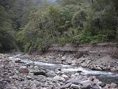 4-5  台灣櫻花鉤吻鮭  族群數量調查:DSCN9510  桃山西溪--颱風沖刷後的土石遺跡