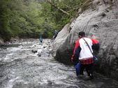 4-5  台灣櫻花鉤吻鮭  族群數量調查:DSCN9520  桃山西溪--歸途涉水