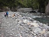 4-5  台灣櫻花鉤吻鮭  族群數量調查:DSCN9517  桃山西溪--歸途之五號壩