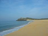 2008四月澎湖春假行:山水沙灘(A bautiful beach with 100% shell sand)