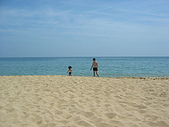 2008四月澎湖春假行:100%純度黃金貝殼砂的山水沙灘