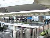 2009春節遊港珠澳:中環前往天星渡輪(Star Ferry)方向