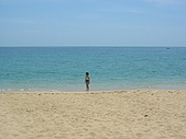 2008四月澎湖春假行:What a beautiful 100% shell sand beach!