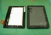 筆電 & 手機_ 維修:③  換好的總成面板 (右圖)