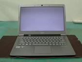 筆電 & 手機_ 維修:● Acer S3筆電--白屏維修