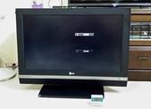 液晶螢幕 & 電視_  維修:● LG 32LC2D-液晶電視_開機畫面閃爍疊影_維修