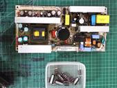 液晶螢幕 & 電視_  維修:④ 拆換下零件