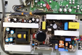液晶螢幕 & 電視_  維修:③ 電源板已故障零件