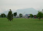 二重疏洪道:北眺的大都會公園