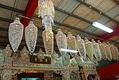 三芝貝殼廟2008/12/21:貝殼吊燈
