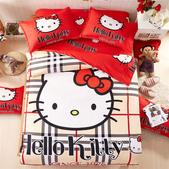 純棉時尚卡通床包床單4件套 kitty貓 冰雪奇緣 小黃人 蜘蛛人 哆啦A夢 米奇 :純棉卡通床包4件套床上用品 被套x1 床單x1 枕套x1 (2).jpg