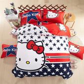 純棉時尚卡通床包床單4件套 kitty貓 冰雪奇緣 小黃人 蜘蛛人 哆啦A夢 米奇 :純棉卡通床包4件套床上用品 被套x1 床單x1 枕套x1 (4).jpg