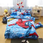 純棉時尚卡通床包床單4件套 kitty貓 冰雪奇緣 小黃人 蜘蛛人 哆啦A夢 米奇 :純棉卡通床包4件套床上用品 被套x1 床單x1 枕套x1 (1).jpg