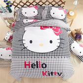純棉時尚卡通床包床單4件套 kitty貓 冰雪奇緣 小黃人 蜘蛛人 哆啦A夢 米奇 :純棉卡通床包4件套床上用品 被套x1 床單x1 枕套x1 (10).jpg