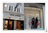 2009 美麗的櫥窗:CHANEL & LV