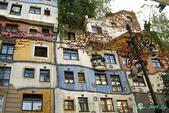 2009 奧地利 & 捷克 相本 1:百水公寓整棟建築物沒有一處設計是