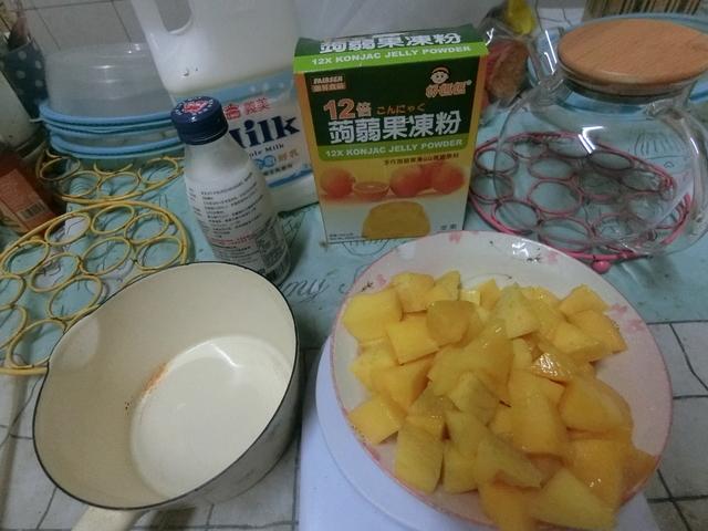 新鮮芒果椰糕DIY  - 浪漫美食DIY-甜品