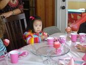 My beautiful baby:第一次參加同學的生日派對