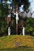 2014.Dec-[雲林虎尾、莿桐] 虎尾建成路美人樹、樹仔腳天主堂:24_耶蘇被釘在十字架上.JPG