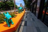 2018.Aug-[台中大里] Dali Art藝術廣場:14_Green Dogs.jpg