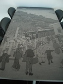 日本:遊客用桌椅
