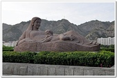 2010.812-23絲路之旅:絲路day4黃河母親像