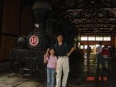 馨漩阿里山奮起湖之旅:火車博物館