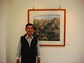 2007南投美術學會聯展:畫前留影