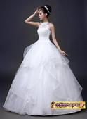 10月(1):43292809267時尚韓版簡約修身掛脖新娘結婚齊地顯瘦2.jpg