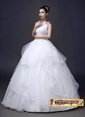 10月(1):43292809267時尚韓版簡約修身掛脖新娘結婚齊地顯瘦3.jpg