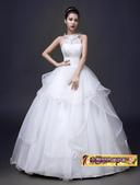 10月(1):43292809267時尚韓版簡約修身掛脖新娘結婚齊地顯瘦1.jpg