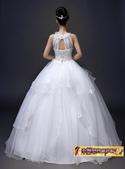 10月(1):43292809267時尚韓版簡約修身掛脖新娘結婚齊地顯瘦4.jpg