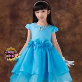 5月新款:41290014390高檔女童公主裙兒童婚紗禮服大童花童婚紗裙蓬蓬裙白色禮服裙童裝1.jpg