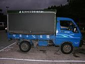 :旺萊貨車出租-得力卡側面貌
