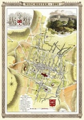 Antique map of British:Map of Winchester.JPG