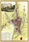 Antique map of British:Map of Worcester.JPG