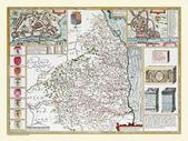 Antique map of British:Map of Northumberland.JPG