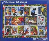 移山仍須努力:# 1-6 Christmas Cat Stamps